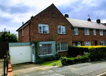 Thumbnail 3 bedroom end terrace house for sale in Brittain Drive, Grantham