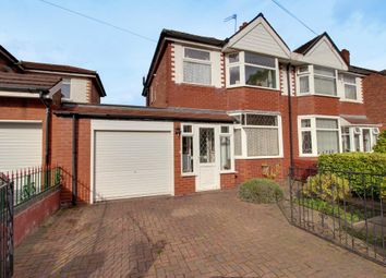 Thumbnail 3 bed semi-detached house for sale in Royal Avenue, Urmston, Manchester