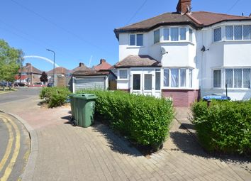 Thumbnail 3 bed semi-detached house for sale in Tudor Court North, Wembley