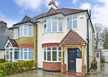 Thumbnail 3 bed semi-detached house to rent in Oak Avenue, Croydon