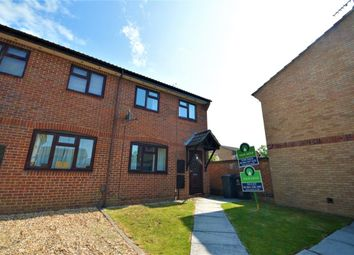 Thumbnail 3 bed semi-detached house for sale in Watermills Close, Andover