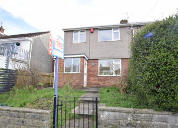 Thumbnail 3 bed semi-detached house to rent in Daniel Street, Barry