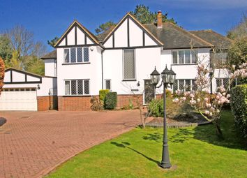 Thumbnail 5 bed detached house to rent in Oakwood Close, Chislehurst
