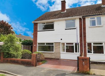 Thumbnail 3 bed semi-detached house for sale in Hampton Close, Worcester