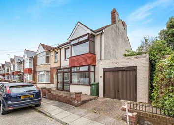 Thumbnail 3 bed semi-detached house for sale in Telford Road, Portsmouth