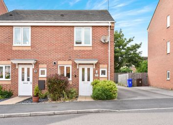 Thumbnail 2 bed semi-detached house for sale in Balata Way, Stretton, Burton-On-Trent
