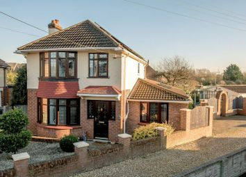 Thumbnail 3 bed detached house for sale in Draycott Avenue, Taunton