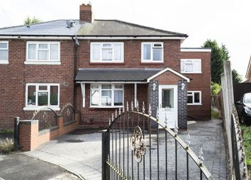 Thumbnail 4 bed semi-detached house for sale in Harrold Road, Rowley Regis