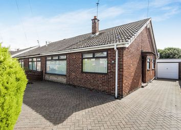 Thumbnail 2 bed bungalow for sale in Garden Place, Normanby, Middlesbrough