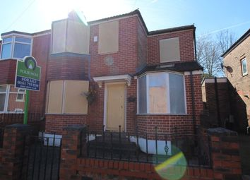 Thumbnail 3 bedroom semi-detached house for sale in Broomhall Road, Pendlebury, Swinton, Manchester