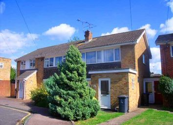 Thumbnail 4 bedroom semi-detached house to rent in Mead Way, Canterbury, Kent