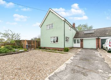 Thumbnail 4 bed link-detached house for sale in Lower Street, Stanstead, Sudbury