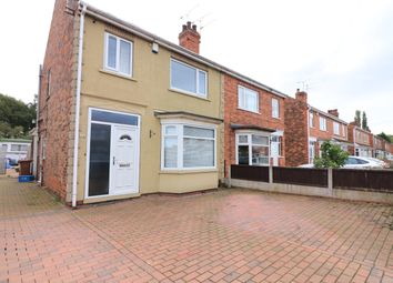 Thumbnail 3 bed semi-detached house for sale in Lodge Road, Scunthorpe