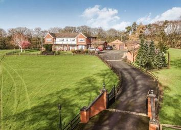 Thumbnail 6 bed detached house for sale in Corbrook, Audlem, Crewe, Cheshire