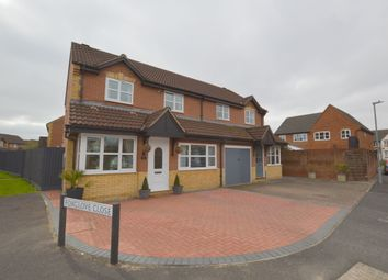Thumbnail 3 bed semi-detached house for sale in Sweetbriar Road, Melksham, Wiltshire