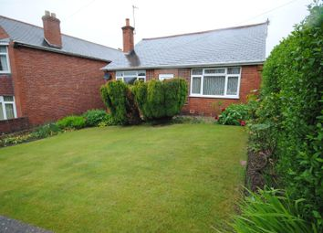 Thumbnail 2 bed detached bungalow for sale in Castle Lane, Bolsover, Chesterfield