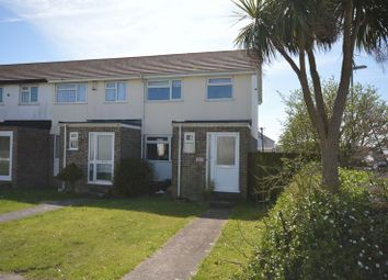 Thumbnail 3 bed end terrace house for sale in Treloggan Road, Newquay