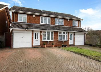 Thumbnail 4 bed semi-detached house for sale in Aquila Road, Leighton Buzzard