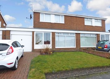 Thumbnail 2 bedroom semi-detached house for sale in Druridge Crescent, Blyth