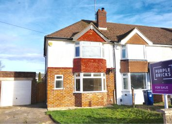 Thumbnail 3 bed semi-detached house for sale in Boverton Drive, Brockworth, Gloucester