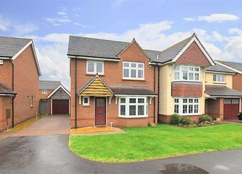 Thumbnail 4 bed detached house for sale in Howburyfield Avenue, Worcester