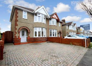Thumbnail 3 bedroom semi-detached house for sale in Churchward Avenue, Rodbourne Cheney, Swindon, Wiltshire