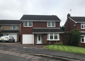 Thumbnail 4 bed detached house to rent in Somerset Drive, Glenfield