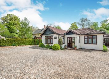 Thumbnail 3 bed detached bungalow for sale in High Street, Shipdham, Thetford