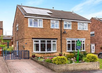 Thumbnail 3 bed semi-detached house for sale in Tudor Way, Newhall, Swadlincote