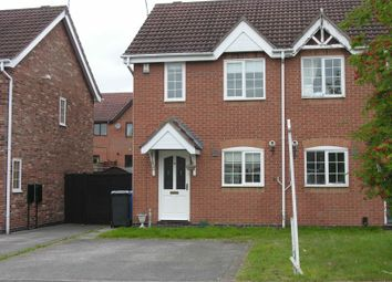 Thumbnail 2 bed semi-detached house to rent in Bridgeness Road, Littleover, Derby