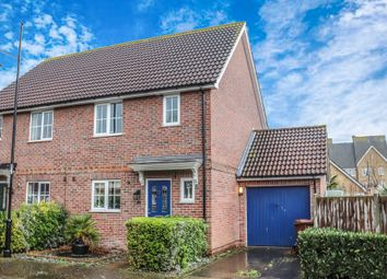 3 bed semi-detached house for sale in Pochard Close, St. Marys Island, Chatham ME4