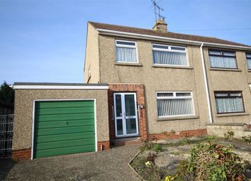 Thumbnail 3 bed semi-detached house for sale in Collett Avenue, Swindon, Wiltshire