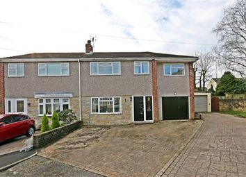 Thumbnail 5 bed semi-detached house for sale in Lancaster Drive, Llantwit Fardre, Pontypridd
