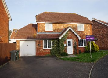 Thumbnail 4 bed detached house for sale in Smithy Drive, Ashford
