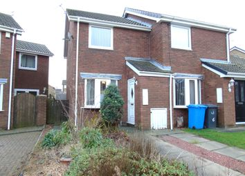 Thumbnail 2 bed semi-detached house for sale in Callaly Close, Pegswood, Morpeth