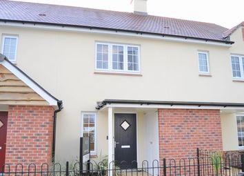 Thumbnail 2 bed terraced house to rent in Kingfisher Gardens, Colebrook Lane, Cullompton
