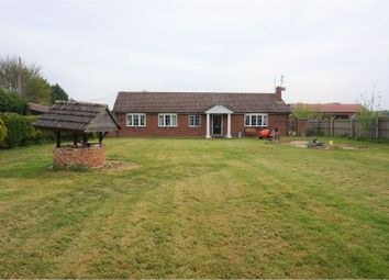 Thumbnail 5 bedroom detached bungalow for sale in Hassock Hill Drove, Wisbech