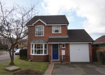 Thumbnail 3 bed detached house for sale in Alexander Drive, Lutterworth