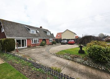 Thumbnail 4 bed detached house for sale in Wash Lane, Wacton, Norwich