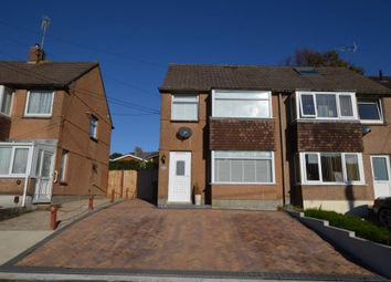 Thumbnail 3 bedroom semi-detached house for sale in Shute Park Road, Plymstock, Plymouth