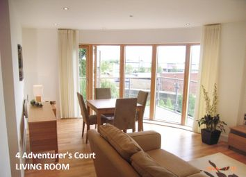 Thumbnail 2 bed flat to rent in Adventurers Court, Pond Garth, York