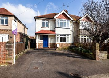 Thumbnail 4 bed semi-detached house for sale in Highland Avenue, Bognor Regis