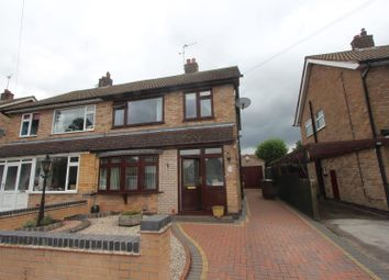 Thumbnail 3 bed semi-detached house to rent in Rockhill Drive, Mountsorrel, Loughborough