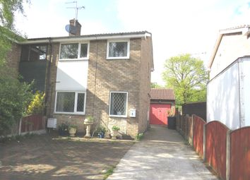 Thumbnail 2 bed semi-detached house for sale in Moira Close, Stainforth, Doncaster