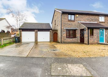 Thumbnail 3 bed semi-detached house for sale in Woodward Close, Gosport
