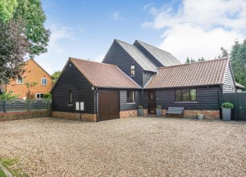 Thumbnail 5 bed detached house for sale in Chiswick End, Meldreth