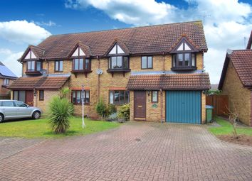 Thumbnail 4 bedroom semi-detached house to rent in Bignor Close, Horsham, West Sussex