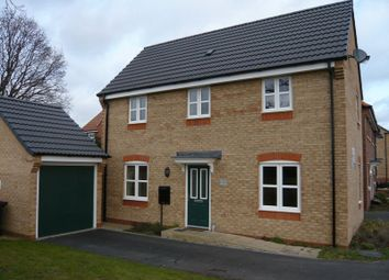 3 bed detached house to rent in Maximus Road, North Hykeham, Lincoln LN6