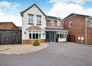 Thumbnail 4 bedroom detached house for sale in Buntingbank Close, South Normanton, Alfreton