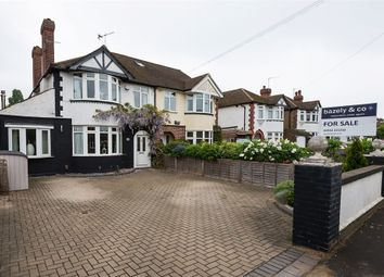 Thumbnail 3 bed semi-detached house for sale in Squires Bridge Road, Shepperton, Middlesex